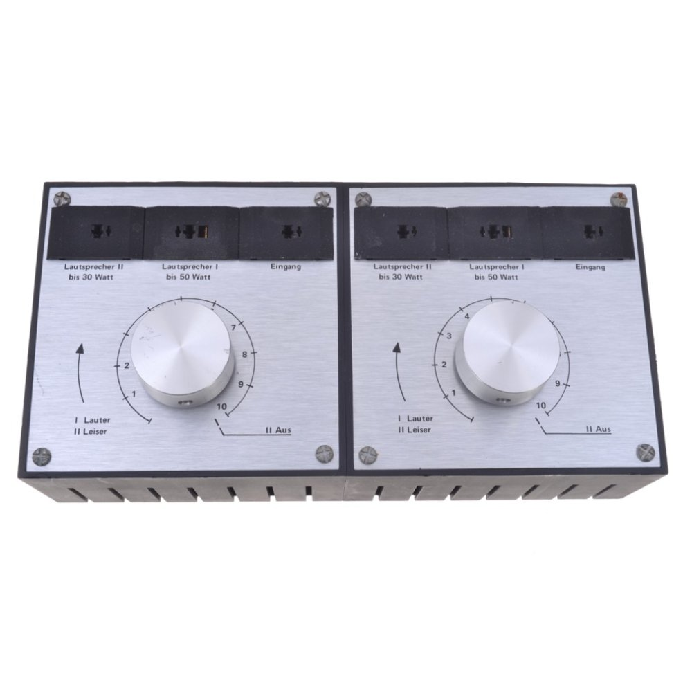 Lautsprecher-Umschaltbox DIN-Anschlüsse