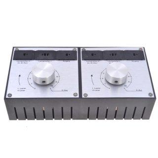 Lautsprecher-Umschaltbox DIN-Anschlüsse, 19,90
