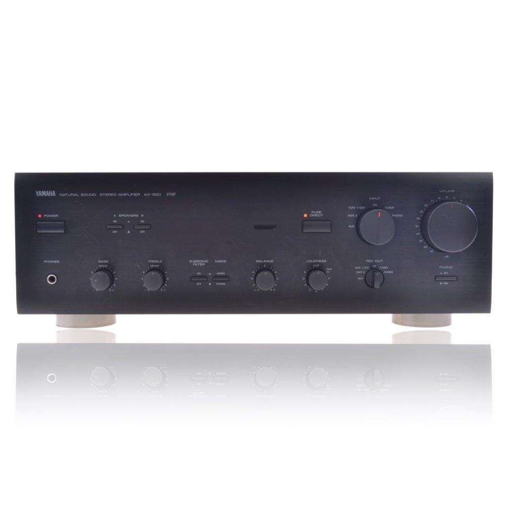 yamaha ax 550 natural sound amplifier verst rker 149 90. Black Bedroom Furniture Sets. Home Design Ideas